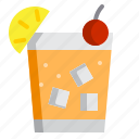 alcohol, alcoholic drink, cocktail, drink icon