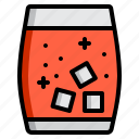 alcohol, alcoholic drink, cocktail, drink, ice icon