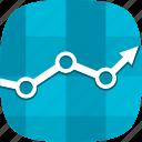 results, statistics icon