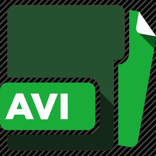 avi, data format, filetype icon