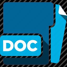 data format, doc, filetype icon