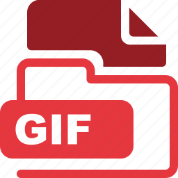 data format, filetype, gif icon