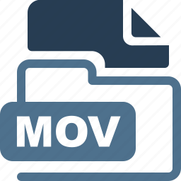 data format, filetype, mov icon
