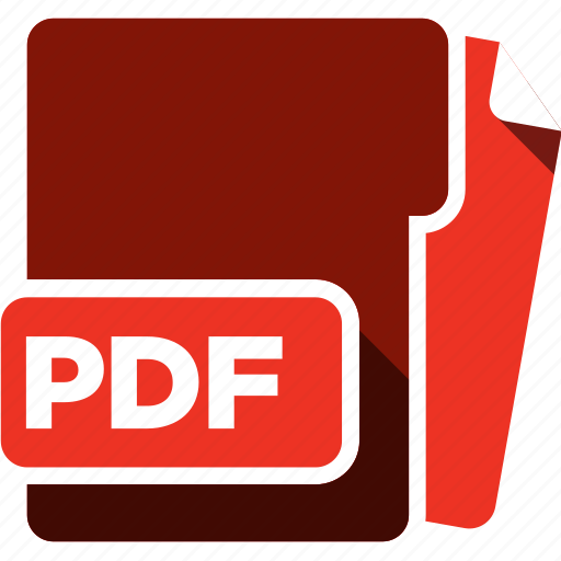 data format, filetype, pdf icon