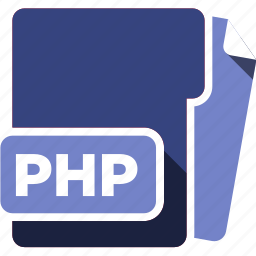 data format, filetype, php icon