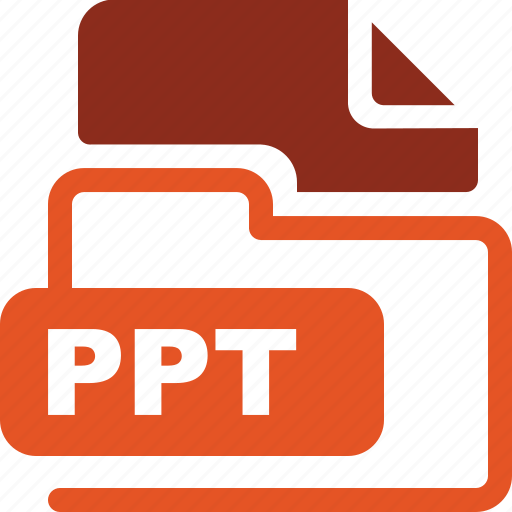 data format, filetype, ppt icon