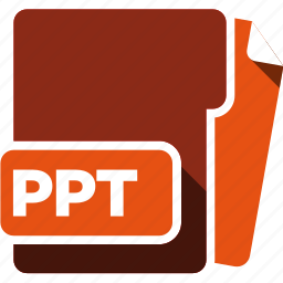 data format, filetype, ppt icon