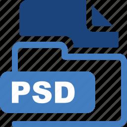 data format, filetype, psd icon