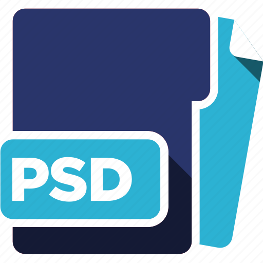 data format, filetype, psd icon