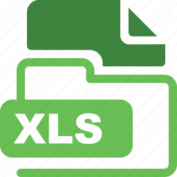 data format, filetype, xls icon