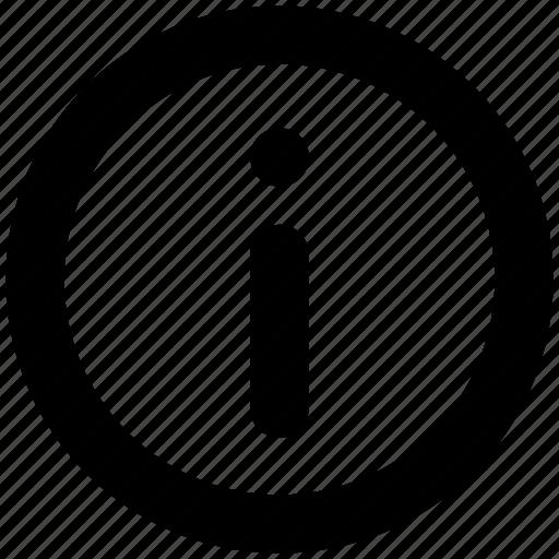 alert, help, icon, info, information, sign icon