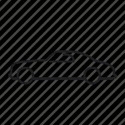 alfa romeo 6c, car, road, transport, transportation, vehicle icon