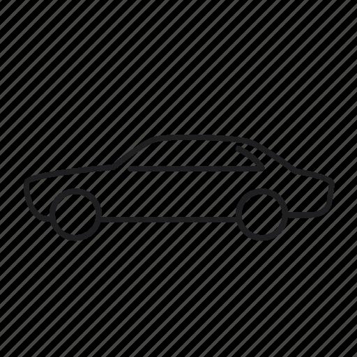 alfa romeo gtv 2000, car, road, transport, transportation, vehicle icon
