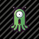 alien, emoji, ufo, omg, surprised