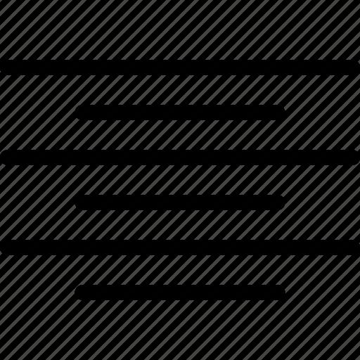 align, alignment, center, line-icon, paragraph, text icon