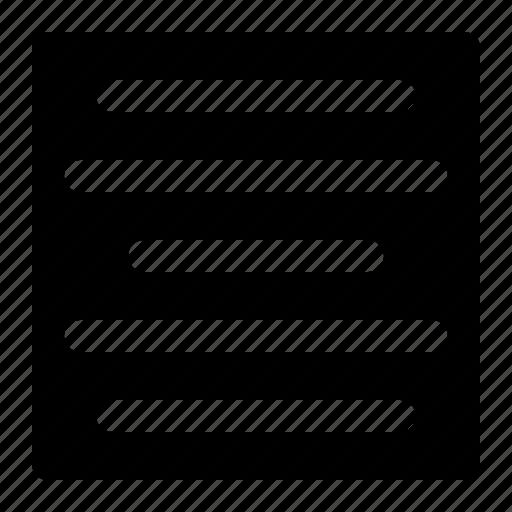 align, center, paragaraph, text icon
