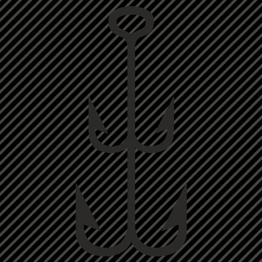 fishing, hook, marine, salor icon