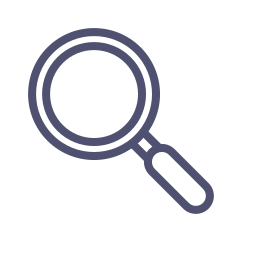 find, glass, lense, search, tool, zoom icon