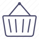 basket, buy, cart, ecommerce, shop, shopping, store icon icon