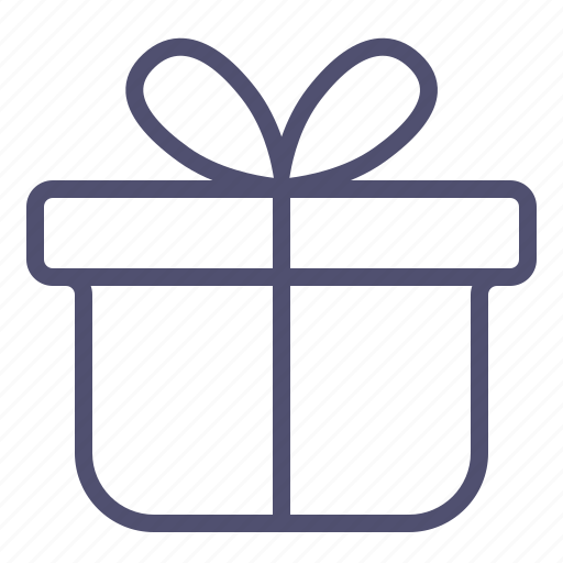 box, gift, package, present, xmas icon