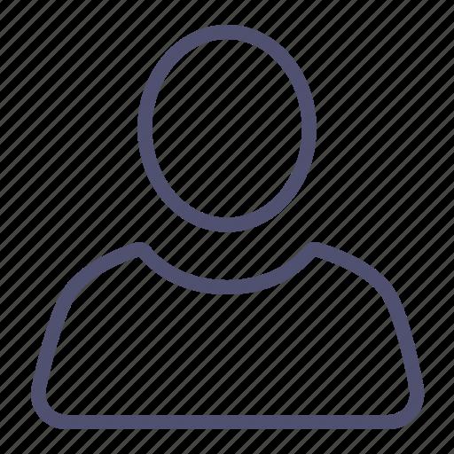 account, avatar, human, info, people, profile, user icon