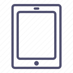 apple, computer, device, ipad, mobile, tablet icon