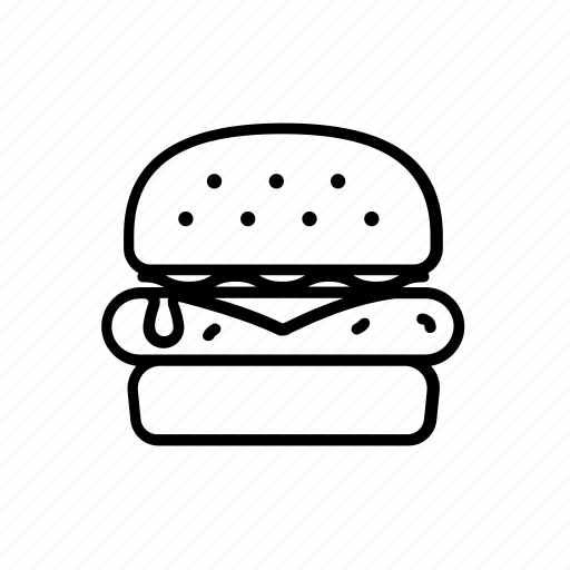 Burger, cheeseburger, diner, fast, food, hamburger icon - Download on Iconfinder