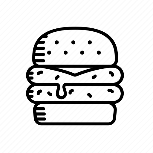 burger, cheeseburger, diner, fast, food, hamburger icon