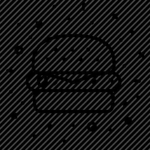 burger, cheeseburger, diner, fast, food, hamburger icon
