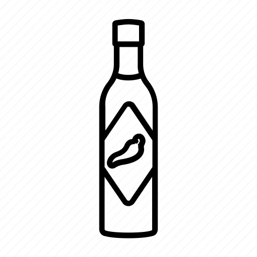 Bottle, chili, hot, sauce, tabasco icon - Download on Iconfinder