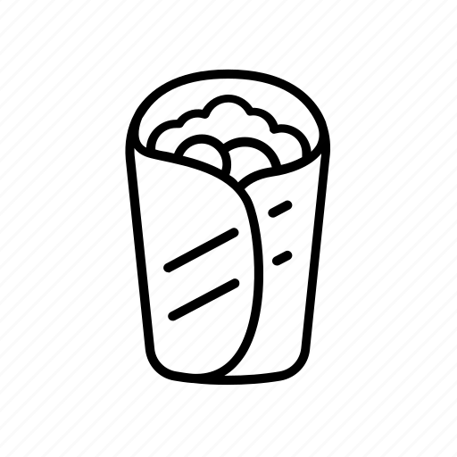 Falafel, food, grill, kebab, shawarma, street, wrap icon - Download on Iconfinder