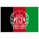 afghanistan, afghanistan flag, country, flag, national, national flag, world flag icon