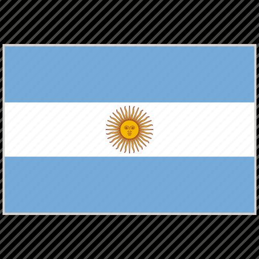argentina, argentina flag, country, flag, national, national flag, world flag icon