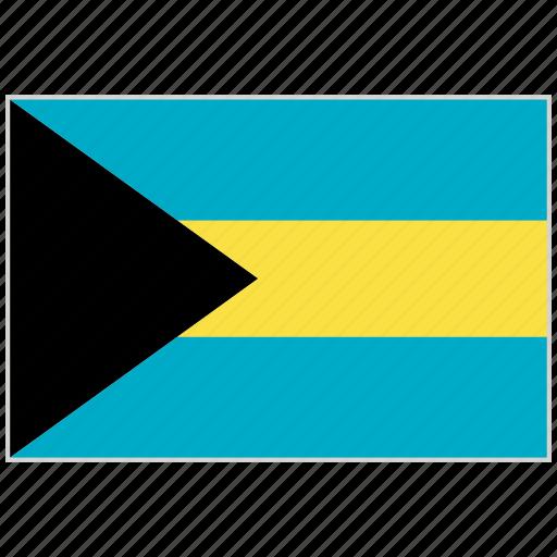 Bahamas, bahamas flag, country, flag, national, national flag, world flag icon - Download on Iconfinder