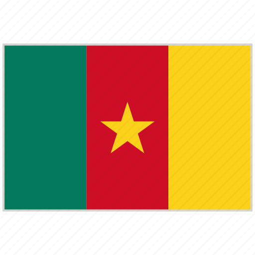 Cameroon, cameroon flag, country, flag, national, national flag, world flag icon - Download on Iconfinder