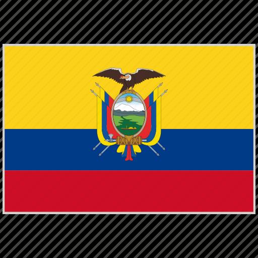 country, ecuador, ecuador flag, flag, national, national flag, world flag icon