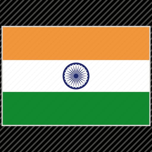 country, flag, india, india flag, national, national flag, world flag icon