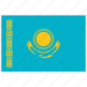 country, flag, kazakhstan, kazakhstan flag, national, national flag, world flag icon