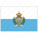 country, flag, national, national flag, san marino, san marino flag, world flag