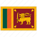 country, flag, national, national flag, sri lanka, sri lanka flag, world flag icon
