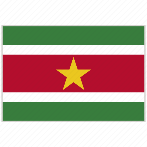 Country, flag, national, national flag, suriname, suriname flag, world flag icon - Download on Iconfinder