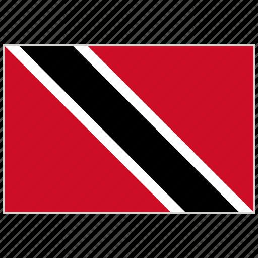 Country, flag, national, national flag, trinidad and tobago, trinidad and tobago flag, world flag icon - Download on Iconfinder