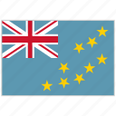 country, flag, national, national flag, tuvalu, tuvalu flag, world flag icon