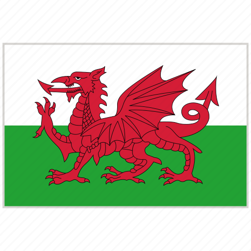 Country, flag, national, national flag, wales, wales flag, world flag icon - Download on Iconfinder