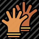 equipment, farm, fashion, glove, gloves, latex, protection