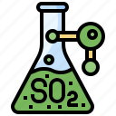 chemical, education, flask, flasks, sulphite, test, tube