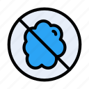 stop, notallowed, dust, restricted, allergy icon