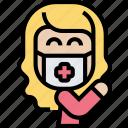 wear, medical, mask, disease, protection