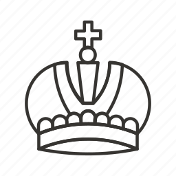 crown, king, monarch, queen, royal, winner icon