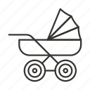 baby, carriage, child, newborn, pram, stroller